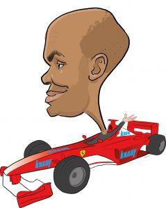 ipad Live karikatur med Allan Buch. farve profiltegning10