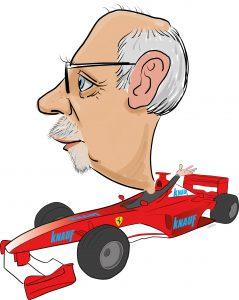 ipad Live karikatur med Allan Buch. farve profiltegning16