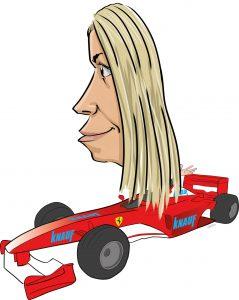 ipad Live karikatur med Allan Buch. farve profiltegning2