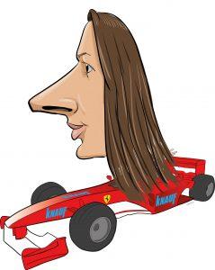 ipad Live karikatur med Allan Buch. farve profiltegning21