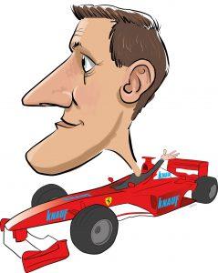 ipad Live karikatur med Allan Buch. farve profiltegning27