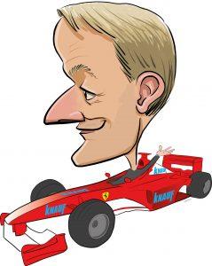 ipad Live karikatur med Allan Buch. farve profiltegning29