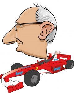 ipad Live karikatur med Allan Buch. farve profiltegning5