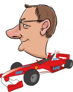 ipad Live karikatur med Allan Buch. farve profiltegning7