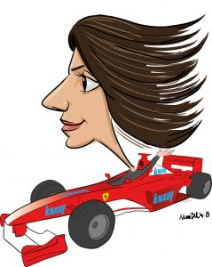 ipad Live karikatur med Allan Buch. farve profiltegning8
