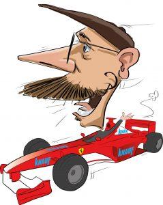 ipad Live karikatur med Allan Buch. farve profiltegning9