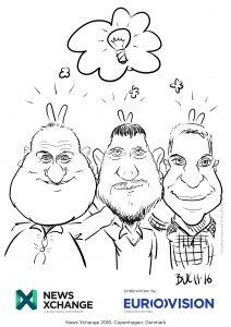 ipad Live karikatur med Allan Buch_21