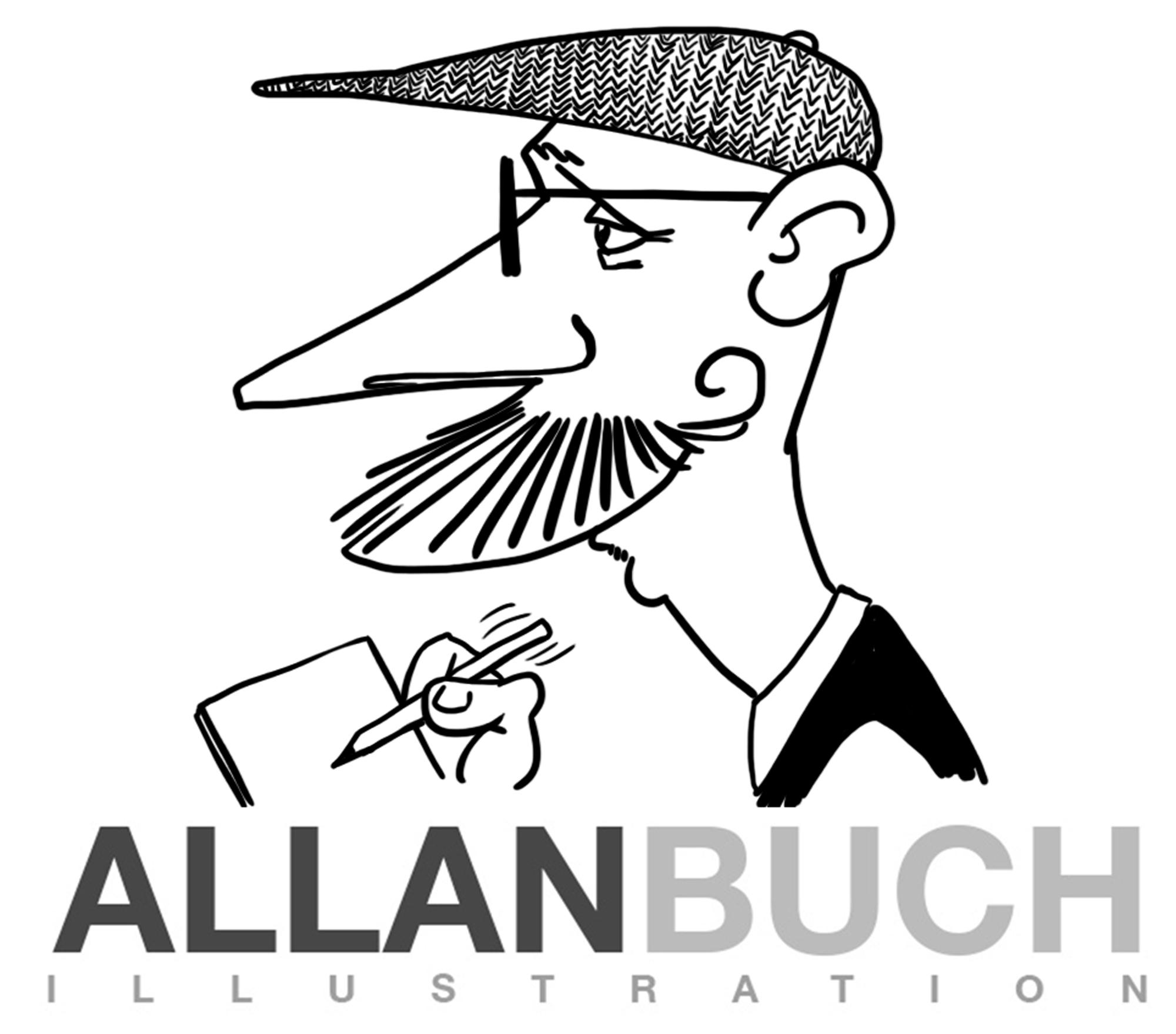 Karikaturtegner Allan Buch